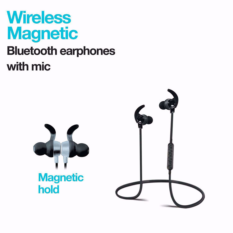 Myme H14 Wireless Magnetic Bluetooth Sports Earphones with mic