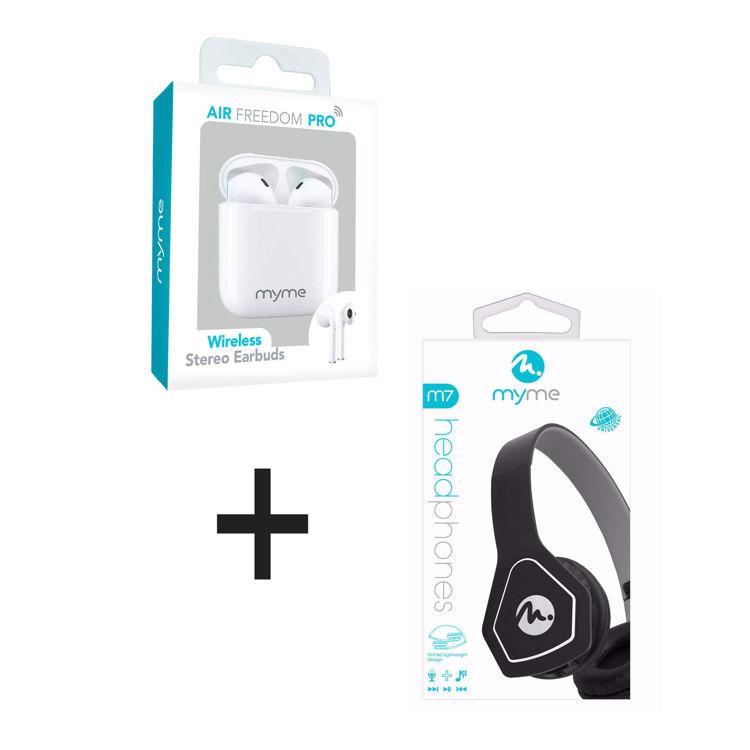 air freedom pro + headphones